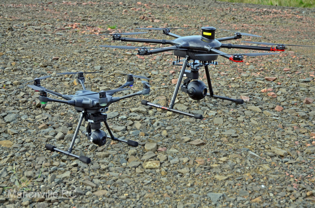Typhoon H and Tornado ready to deploy